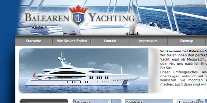 Balearen Yachting – CD, Internetauftr.