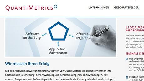 Quantimetrics – Frontend