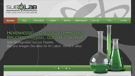 Subolab – Internetauftritt, Social Web
