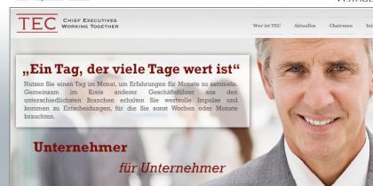 TEC International Germany – Frontend